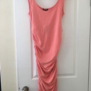 Isabella Oliver Ruched Maternity Tank Dress